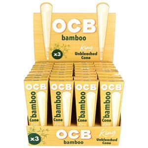 OCB Bamboo Cones King Size