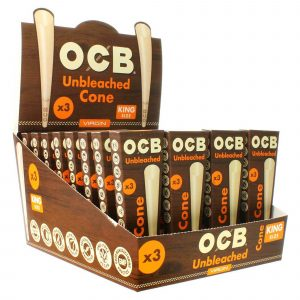 ocb unbleached cone king virgin pre rolled with tip at home tube stuff 3 pack best papers 86406 3  96443.1603209702