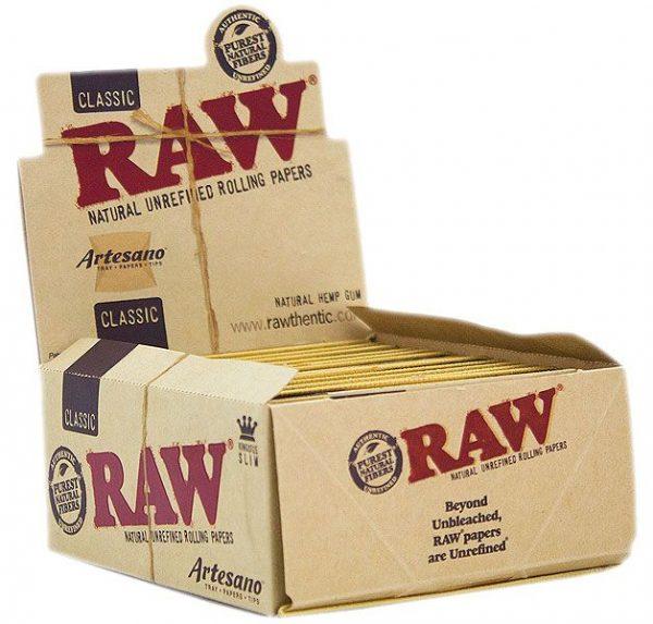 raw classic artesano box king size slim