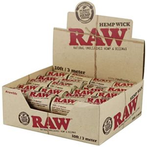 raw hemp wick 10 ft